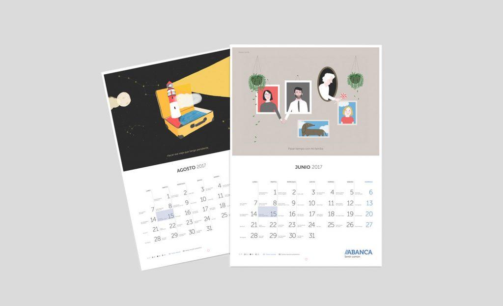 calendario Abanca 2017