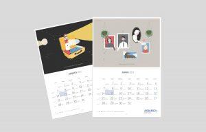 Calendario 2017 Abanca